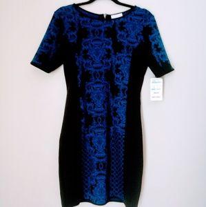 Romeo & Juliet Dress Size S New Black Blue